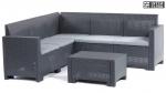Комплект уличной мебели B:rattan Set Corner Nebraska HB