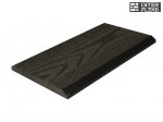 Торцевая планка Ай-Техпласт графит 11х118