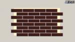 Фасадная термопанель Termosit с клинкерной плиткой Ceramika Paradyz Cloud Brown Duro