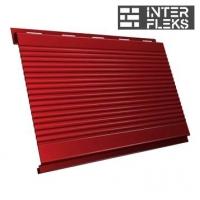 Металлический сайдинг GL Вертикаль gofr RAL 3011 коричнево-красный (Grand Line)