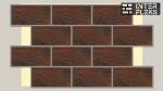 Цокольная термопанель Termosit с клинкерной плиткой Ceramika Paradyz Semir Brown