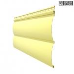 Виниловый сайдинг Docke Premium Блок Хаус Лимон