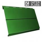 Металлический сайдинг GL Вертикаль line RAL 6002 лиственно-зеленый (Grand Line)