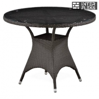 Стол из иск. ротанга T220CBT-W52-D96 Brown