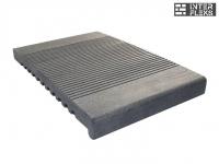 Ступень ДПК Ай-Техпласт 320х22 серый