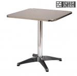 Стол LFT-3125A-60х60 Silver