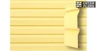 Виниловый сайдинг GL Корабельная доска Слим 3,0 D4 золотой песок