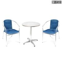 Комплект мебели LFT-3199E/T3127-D60 Blue (2+1)