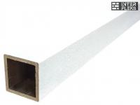 Столб Woodvex White co-extrusion (белый) 100х100