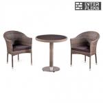 Комплект мебели из иск. ротанга T501DG/Y350G-W1289 Pale (2+1)