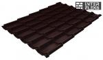 Металлочерепица Grand Line Modern RAL 8017 шоколад