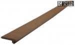 Торцевая планка WOODVEX темно-коричневая