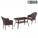 Комплект мебели из иск. ротанга ST20B/S20B-1 Brown (2+1)