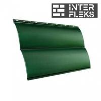 Металлический сайдинг GL Блок-хаус RAL 6005 зеленый мох (Grand Line)