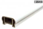 Перила Woodvex фигурные White co-extrusion (белый) 100х50