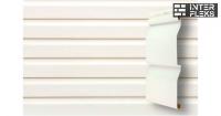 Виниловый сайдинг GL Корабельная доска Лайт 3,0 белый