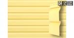 Виниловый сайдинг GL Корабельная доска 3,6 D4,4 золотой песок