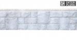 Фасадная и цокольная панель Я-Фасад Екатерининский камень серебро