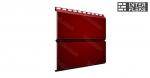 Металлический сайдинг GL ЭкоБрус RAL 3005 красное вино (Grand Line)