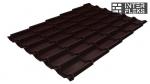 Металлочерепица Grand Line Classic RAL 8017 шоколад Metallic