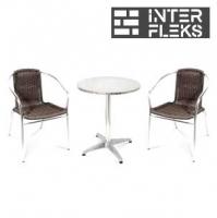 Комплект мебели LFT-3099B/T3127-D60 Brown (2+1)