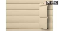 Виниловый сайдинг GL Блок-хаус 3,0 D4,8 бежевый