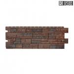 Фасадная и цокольная панель Docke Stein Темный орех