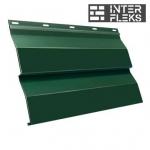 Металлический сайдинг GL Корабельная доска RAL 6020 хромовая зелень (Grand Line)
