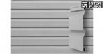 Виниловый сайдинг GL Корабельная доска Слим 3,0 D4 серый
