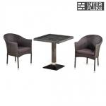 Комплект мебели из иск. ротанга T505SWT/Y350W-W2390 Brown (2+1)
