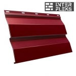 Металлический сайдинг GL Корабельная доска RAL 3009 оксидно-красный (Grand Line)
