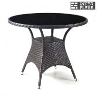 Стол из иск. ротанга T190B-1-D96 Brown