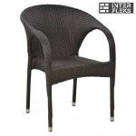 Кресло из иск. ротанга Y290B-W52 Brown