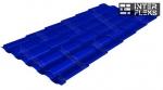 Металлочерепица Grand Line Kredo RAL 5002 ультрамариново-синий