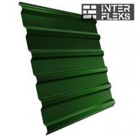 Кровельный профнастил GL-20R RAL 6002 лиственно-зеленый