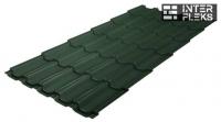 Металлочерепица Grand Line Kvinta Plus RAL 6020 хромовая зелень