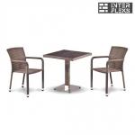 Комплект мебели из иск. ротанга T502DG/A2001G-W1289 Pale (2+1)