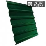 Кровельный профнастил GL-20R RAL 6005 зеленый мох