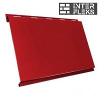 Металлический сайдинг GL Вертикаль classic RAL 3011 коричнево-красный (Grand Line)