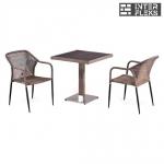 Комплект мебели из иск. ротанга T502DG/Y35G-W1289 Pale (2+1)