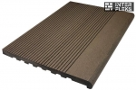 Ступень ДПК WOODVEX Select Темно-коричневый 350х22