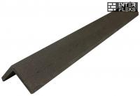 L-планка WOODVEX графит 53х53