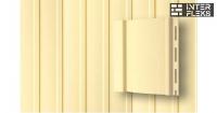 Виниловый сайдинг GL вертикальный 3,0 S6,3 ванильный
