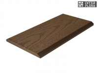 Торцевая планка Ай-Техпласт шоколад 11х118