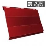 Металлический сайдинг GL Вертикаль prof RAL 3011 коричнево-красный (Grand Line)