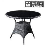 Стол из иск. ротанга T190A-1-D96 Black