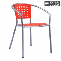 Стул пластиковый XRB-042A Red