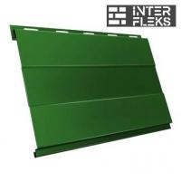 Металлический сайдинг GL Вертикаль prof RAL 6002 лиственно-зеленый (Grand Line)