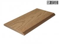 Торцевая планка Ай-Техпласт карамель 11х118