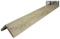 L-планка WOODVEX Colorite серый дым 53х53